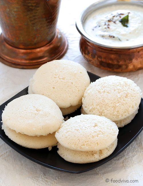 Soft and Spongy Idli with Idli Rava (Rice Rava) - Perfect to Serve with Vegetable Sambar in the Breakfast - Step by Step Photo Recipe