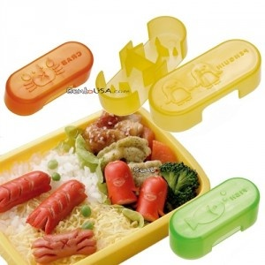 hot dog cutters bento cute food wiener cutter animals set of 3 yummy toddler ific. Black Bedroom Furniture Sets. Home Design Ideas