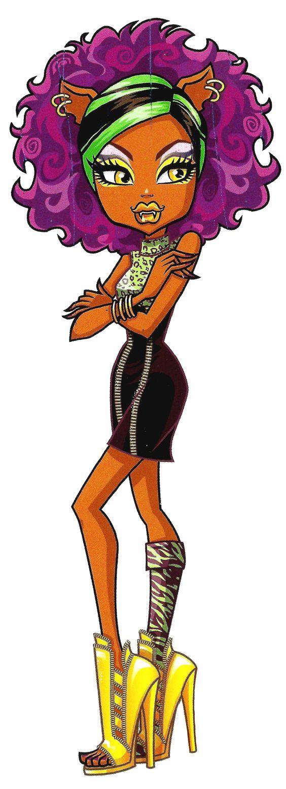 Coloriage de Bonita Femur qui est belle en femme fatale