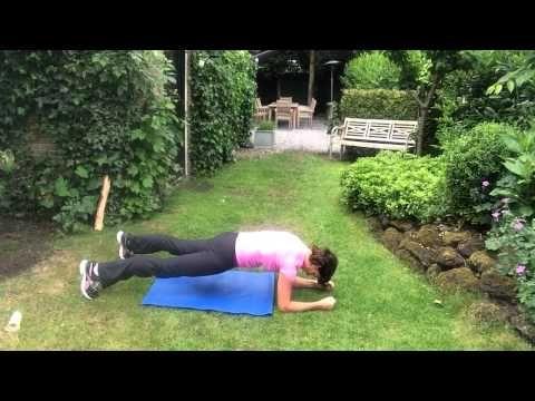 500x staande buikspier oefening...ook voor de vetverbranding - YouTube