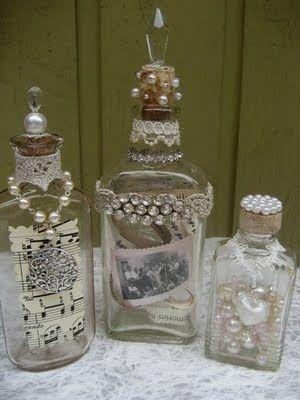 frascos de medicamentos viejos a tesoros