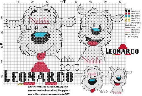 Creazioni-Natalia — «cani-Leonardo.jpg» на Яндекс.Фотках
