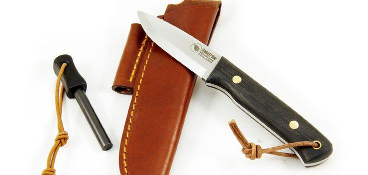 Woodsman Bushcraft Knife w/ Bog Oak and K720 High Carbon Steel
