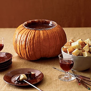 Nothings classier than fondue!...Right? This would be awesome at my classy Halloween extravaganza!