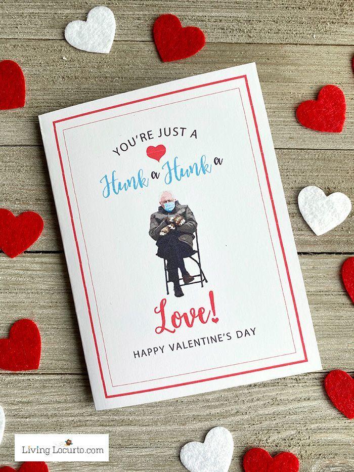 Bernie Meme Valentine S Day Cards In 2021 Valentines Memes Printable Valentines Day Cards Valentine Day Cards