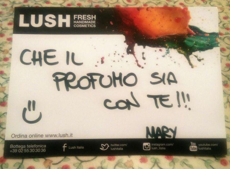 E col tuo spirito, #lush_italia