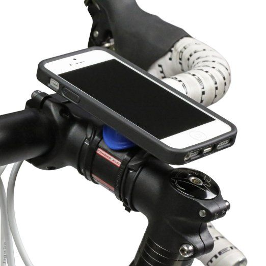 Annex Quad Lock Bike Mount Kit for iPhone 5/5S - Black