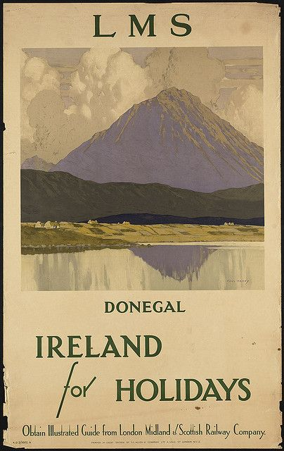 Ireland for the holidays. LMS Donegal by Boston Public Library, via Flickr