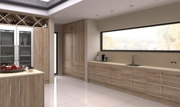Bella Natural Oak Kitchen - By BA Components.