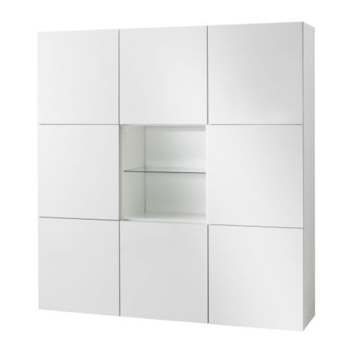 BESTÅ Storage combination with doors IKEA Store, find and display; with INREDA interior organizers you can easily organize your things.