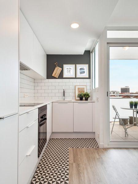 Un apartamento nórdico con aire industrial en Barcelona | Decorar tu casa es facilisimo.com