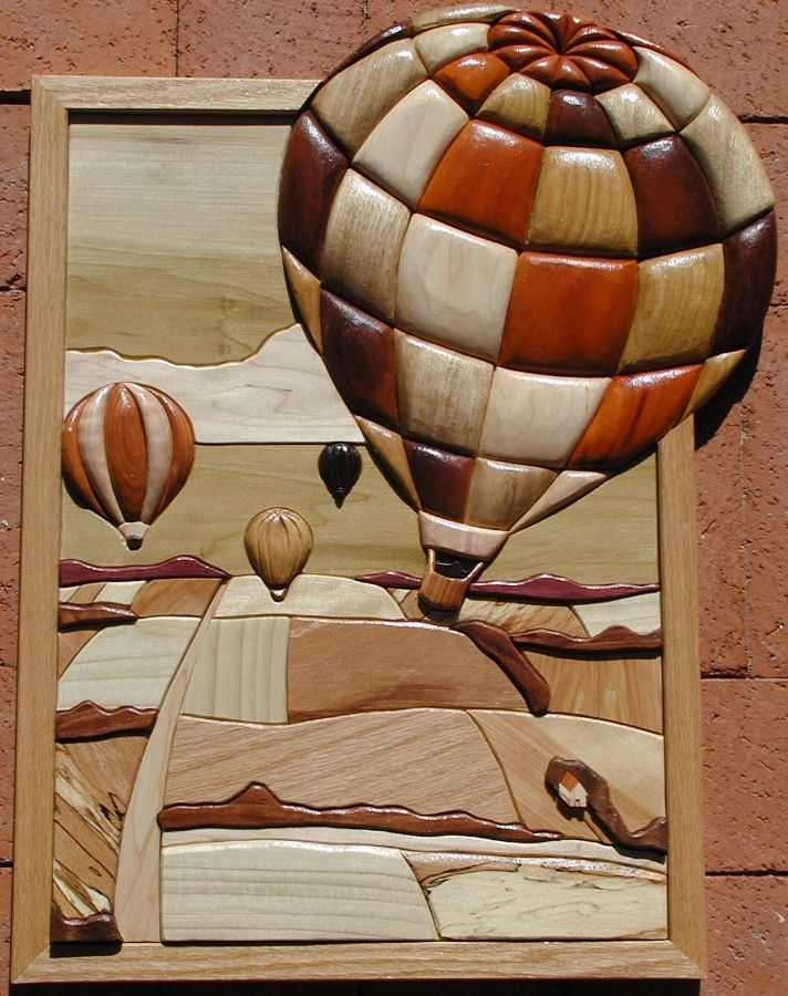intarsia wood art that I wish I could do