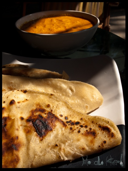 Chapatti (also called Roti) a traditional Indian bread that is a perfect vehicle for curries and dals!