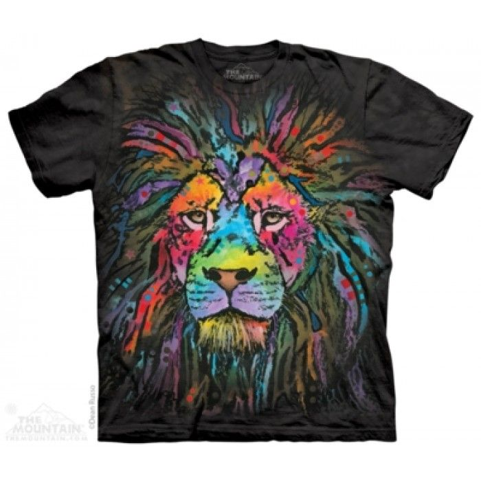 Tricouri The Mountain – Tricou Mane Lion
