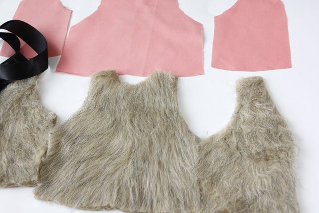 see kate sew: baby faux fur vest pattern + tutorial