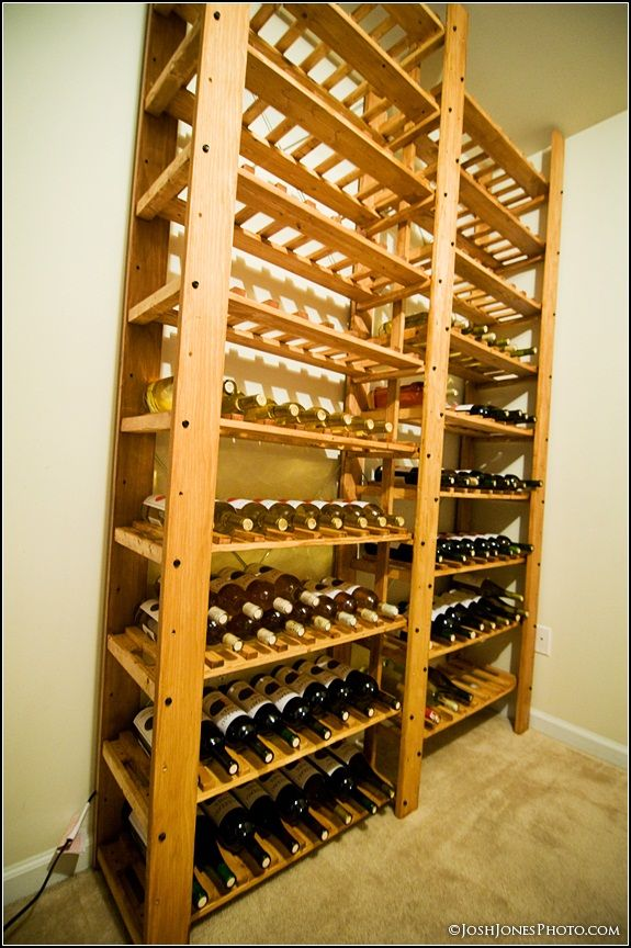 diy+wine+rack | All in all it can hold roughly 1500 bottles .