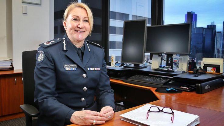 Deputy Police Commissioner Wendy Steendam. Picture: Hamish Blair