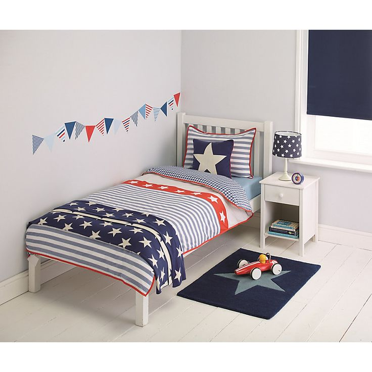 Little Home At John Lewis Stars & Stripes Duvet Cover And