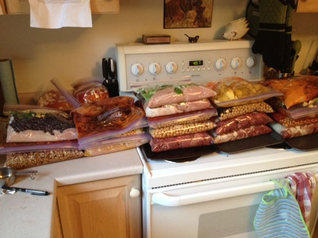 Freezer Cooking 12 Recipes 24 Bags 48 Meals And Pinterest