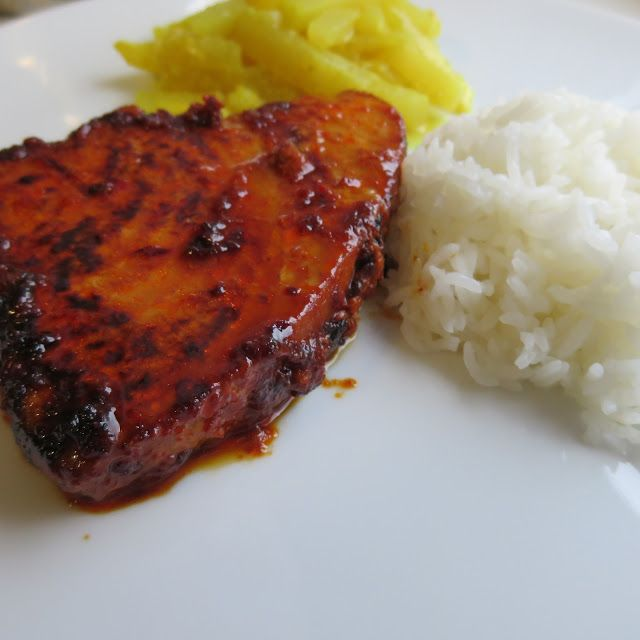 Rote Gewürzmischung für Thunfisch medaillons Braten Grillen/Backen Hauptgerichte Meeresfrüchte #asianfood #asiatisch #exotisch