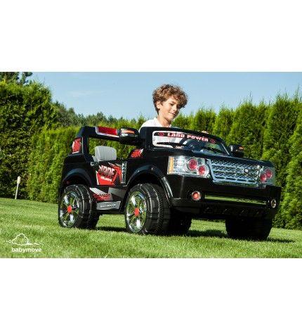 Samochód dziecięcy na akumulator Jeepi czarny