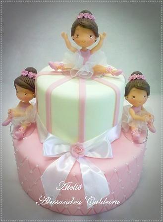 Todos os tamanhos | Bolo de Biscuit Bailarina! | Flickr – Compartilhamento de fotos!