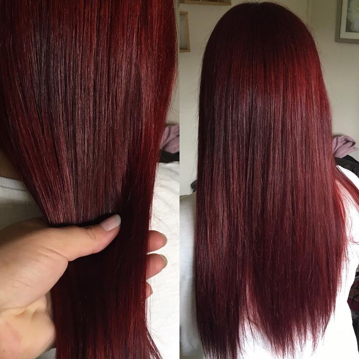 Half Red And Half Black Hair Color Ideas 36102 Loadtve