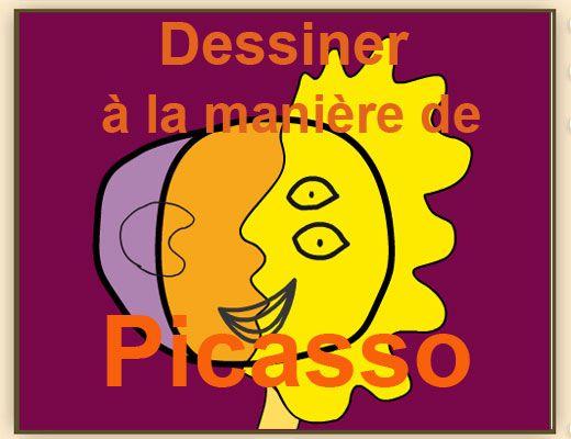 Un petit jeu pour se prendre pour Picasso ! Dessiner à la manière de Picasso : http://education.francetv.fr/jeu/dessiner-a-la-maniere-de-picasso-o20576