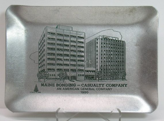 Aluminum Tray of Maine Portland by FindingMaineVintage on Etsy, $10.25