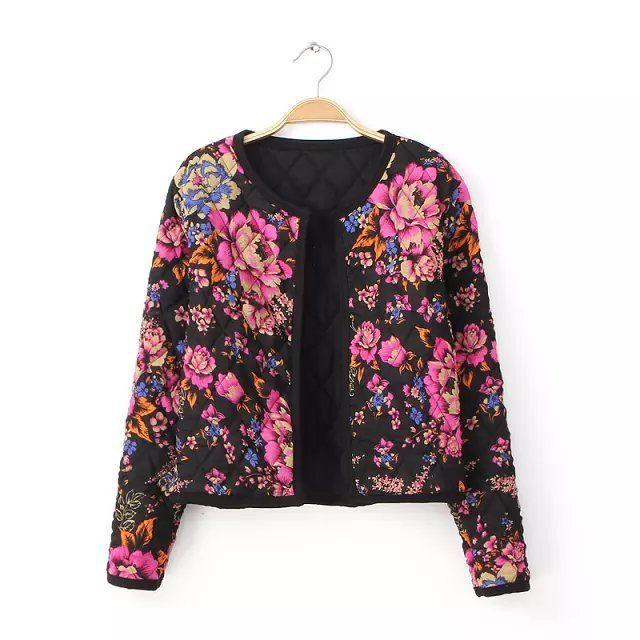 Aliexpress.com : Buy 2015 Jackets Women Winter Coat Printing ...