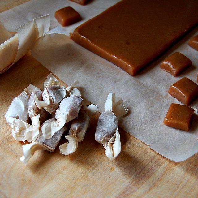 Apple Cider Caramels | Bars and Desserts | Pinterest