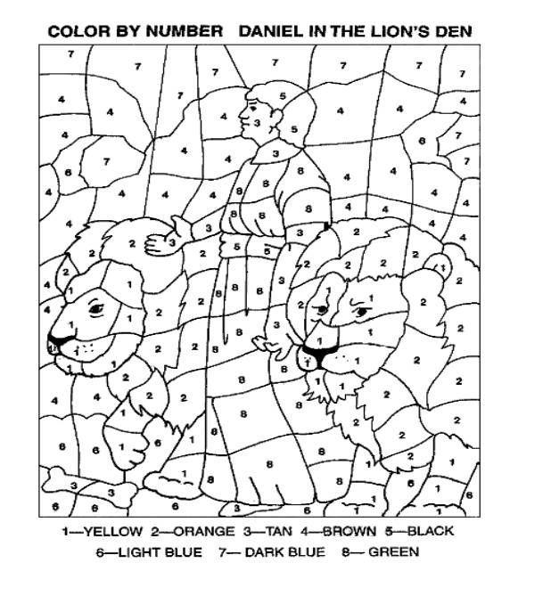 Image result for daniel in the lion's den activities