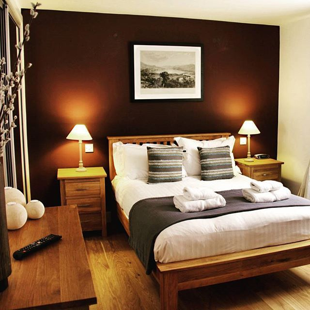 One of the bedrooms in our waterfront apartments #taymouthmarina #bedroom #cozy #lochtay #aberfeldy #scotland #visitscotland