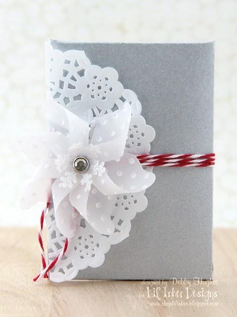 cute idea -  vellum pinwheel: Paper Craft, Card Ideas, Design Blogs, Cards