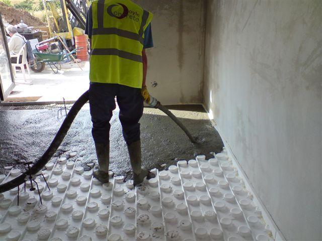Prestressed Floors Kilkenny - Kilmacow - for Marcella Sweeney http://www.doyleconcrete.ie/work/detail/prestressed-floors-kilkenny-kilmacow-for-marcella-sweeney/