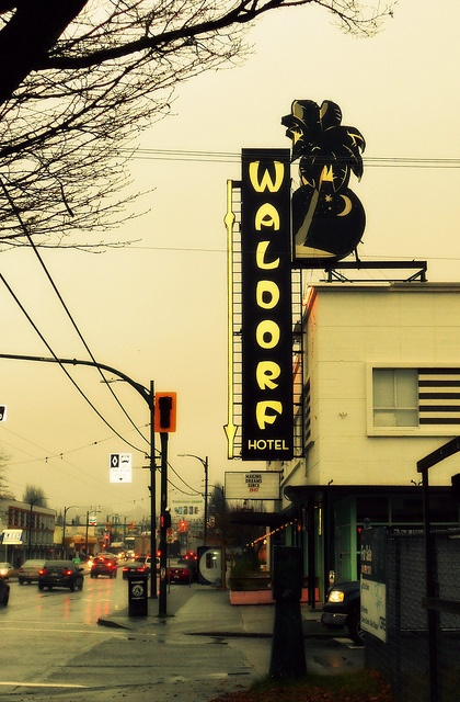 The Waldorf Hotel in Vancouver, British Columbia Canada's East Side.