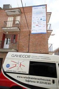 9 abril 2013. Inicio de la reforma y obra en interior del edificio PREI de Madrid. GAHECOR