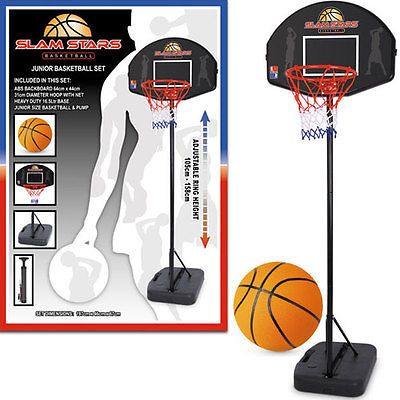 New junior free #standing basketball hoop net #backboard set #includes ball & pum,  View more on the LINK: http://www.zeppy.io/product/gb/2/231864558940/