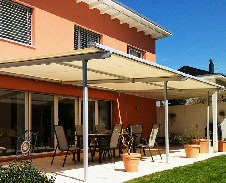 Fasade Pergolino er vår beste pergolamodell og er brukt både privat og på restauranter og forretningsbygg i hele Europa.