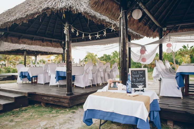 Destination wedding at the Iberostar Laguna Azul in Varadero, Cuba