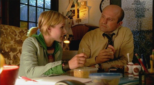 Kristen Bell and Enrico Colantoni on Veronica Mars