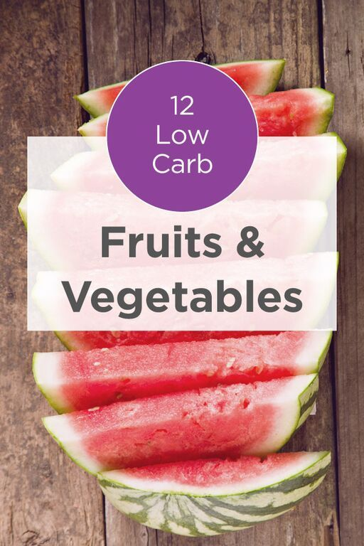 If you're watching your carbohydrates intake or on a low-carb diet, there are certain fruits and vegetables that are better than others. Read this list of 12 low carb fruits & vegetables