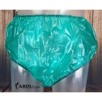 Traditional Plastic Pants, Green