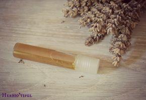 """Roll-on apaisant """"après piqûres de moustiques"""" - recette pour calmer les démangeaisons et apaiser les piqûres d'insectes. Home-made, diy, recette naturelle."""