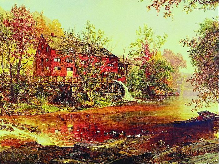 western+oil+canvas+painting | of Western Landscape Oil Paintings 、Western Landscape Oil Painting ...