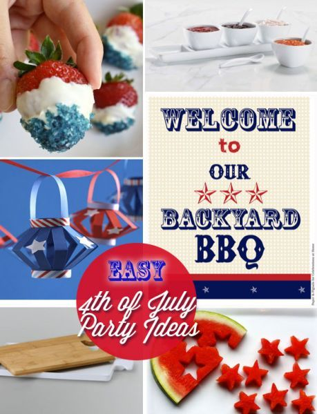 easy 4th july menu ideas