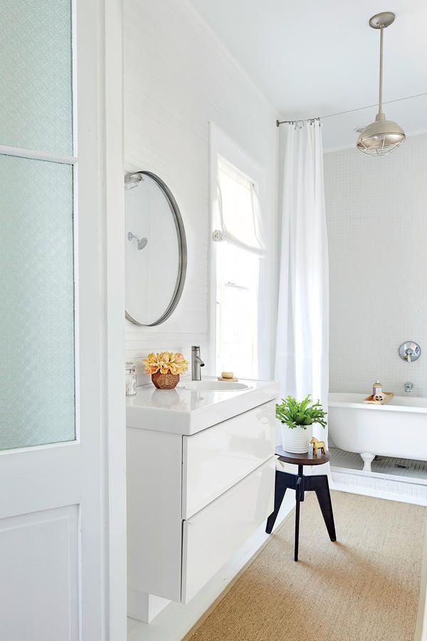 Best Bathrooms Images On Pinterest White Bathrooms