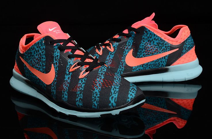 Limited Edition 2015 NIKE 5.0 weave training Black-Sky Blue-Pink