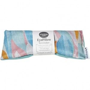 Wheatbags Love is an Australian company bringing a little luxury to the humble wheat bag. This lavender scented eyepillow is designed to soothe sore eyes and relieve headaches. Ethically handmade in Melbourne, Australia using natural cotton, organic lavender and wheat, with a earthy gum leaves print. These wheat bags are suitable for heating in the microwave or as a cold-pack from the freezer.
