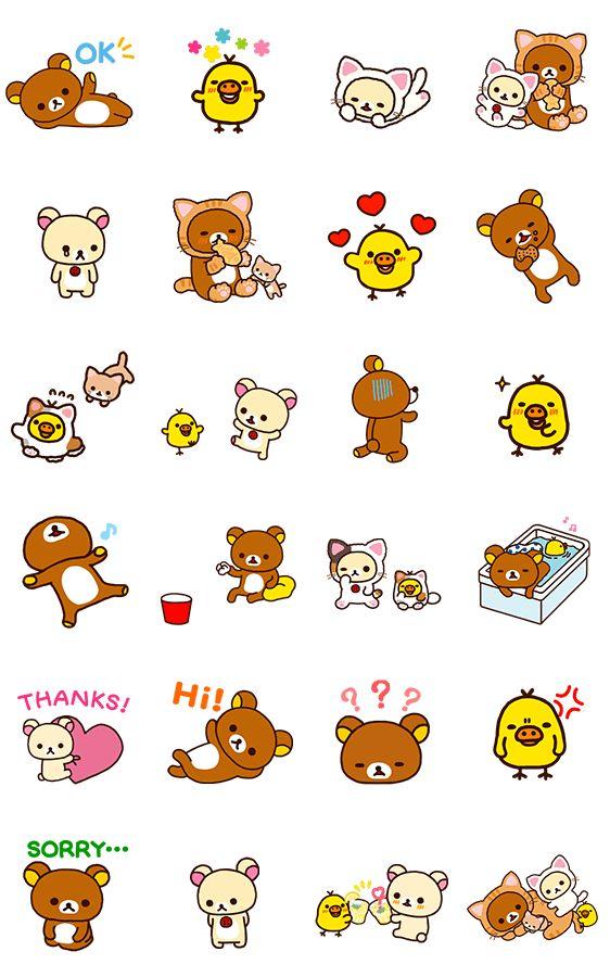 画像 - Rilakkuma Animated Stickers by Imagineer Co.,Ltd. / San-X Co., Ltd. - Line.me